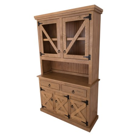 Eagle Furniture Farm House 3 Door Dining Buffet with Optional Hutch 2 Door Traditional Hutch
