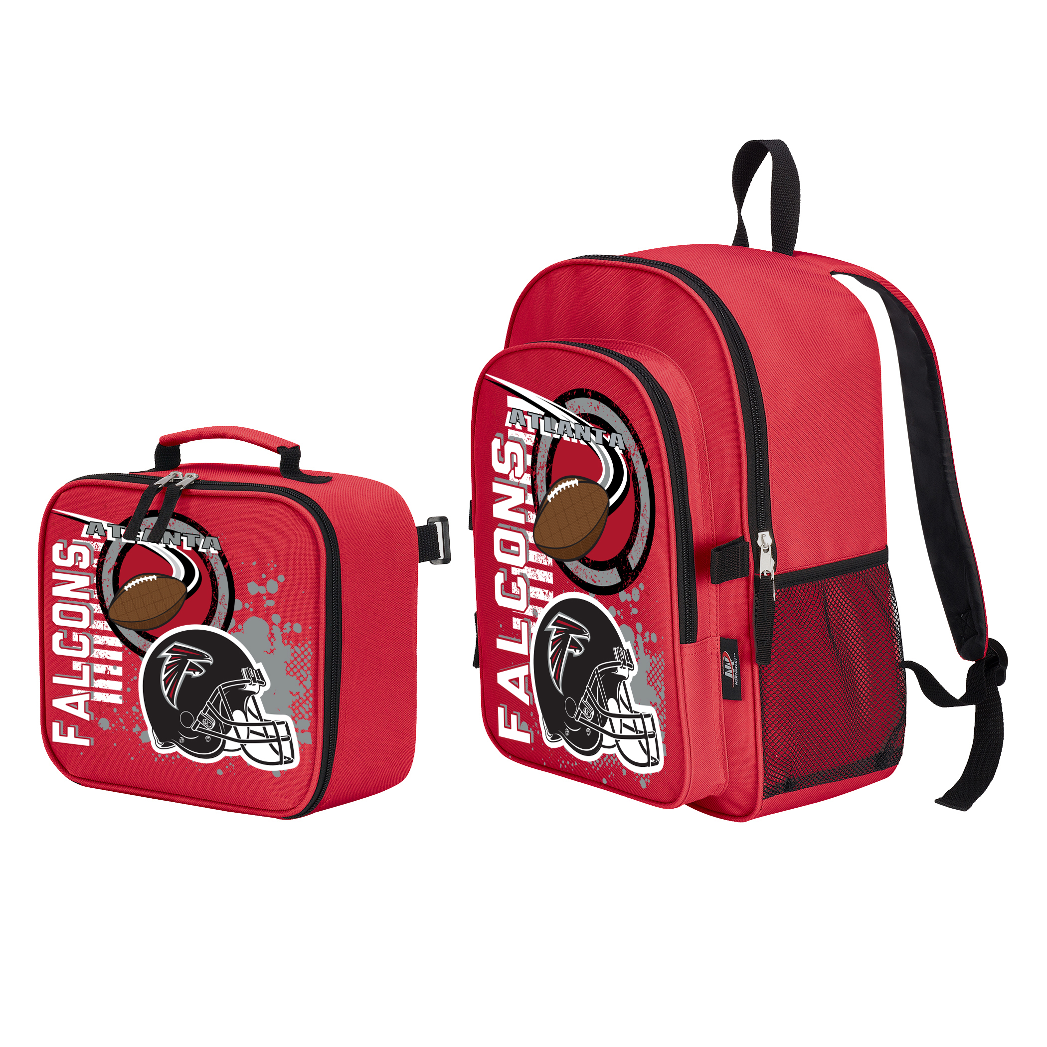 "NFL Atlanta Falcons ""Accelerator"" Backpack and Lunch Kit Set"