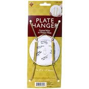 Nicole Plate Hanger (7 In. - 10 In.) (5 Units Included)