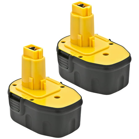 Replacement For DW9091 Power Tool Battery (1500mAh, 14.4V, NiCD) - 2 Pack