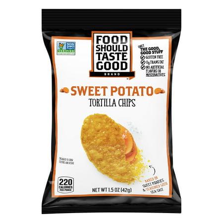 (12 Pack) Food Should Taste Good Sweet Potato Tortilla Chips - Potato Sacks For Sale