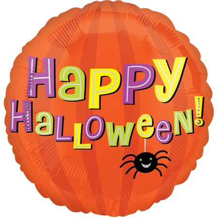 Anagram Halloween Balloons (Anagram Happy Halloween Smiling Spider 18