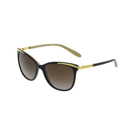 Ralph Lauren Women's RA5203-1090T5-54 Black Cat Eye Sunglasses ()