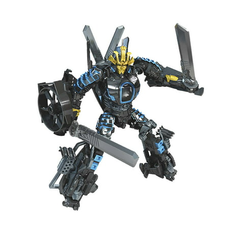 Transformers Toys Studio Series 45 Deluxe Class Transformers: Age of Extinction Movie Autobot Drift Action Figure - Ages 8 and Up, 4.5-inch