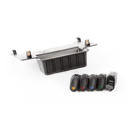 Lower Switch Panel Kit for 2011-2017 Jeeps Wrangler Models - image 1 of 1