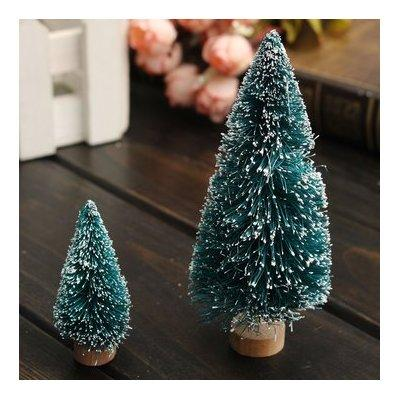 mini christmas pine tree christmas decoration ornament^45mm.
