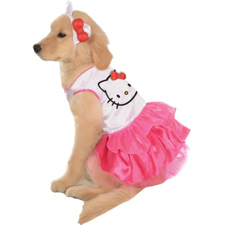 Rubies Hello Kitty Dress Pet Dog Halloween Costume XL
