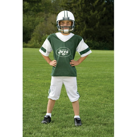 Franklin Sports NFL New York Jets Deluxe Uniform Set