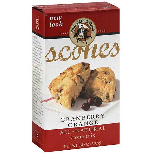 King Arthur Flour Cranberry Orange Scone Mix, 14 oz (Pack of 6)