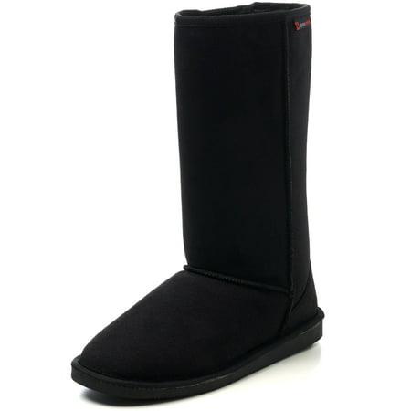 """Alpine Swiss Womens Boots Mid Calf 11.5"""" Aussie Faux Fur Warm Shearling Shoes (Lowe Alpine Women)"""