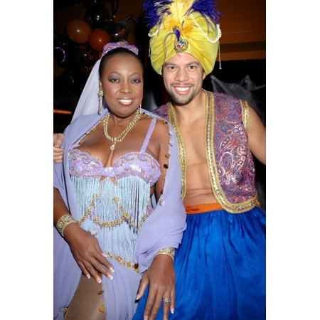 Star Jones And Al Reynolds At The Annual Michele And Frank Rella Halloween Party Ny October 28 2004 Celebrity - Halloween Celebrity