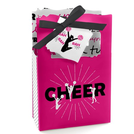 We've Got Spirit - Cheerleading - Birthday Party or Cheerleader Party Favor Boxes - Set of 12