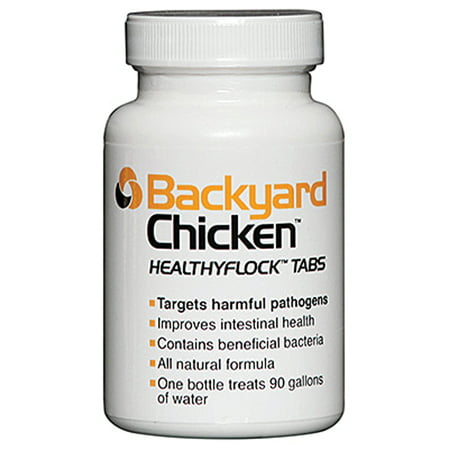 Dbc Agricultural Prdts-Backyard Chicken Healthyflock Tabs 90 Tabs