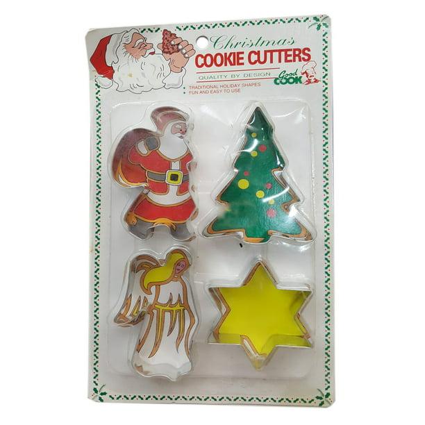 Retro Christmas Bulbs Cookie Mold