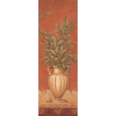 Pamela Gladding Tuscan Bouquet - Posterazzi Tuscan Reverie II Canvas Art - Pamela Gladding (24 x 48)
