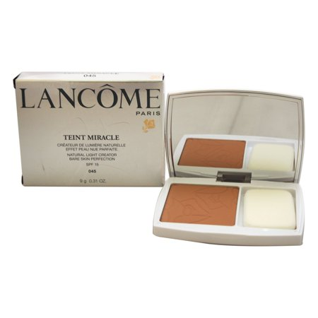 Lancome Teint Miracle Compact Foundation SPF 15 - # 045 Sable Beige 0.31 oz Compact ()