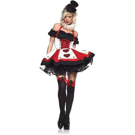Leg Avenue Pretty Playing Card Adult Halloween Costume (Voice Play Halloween)