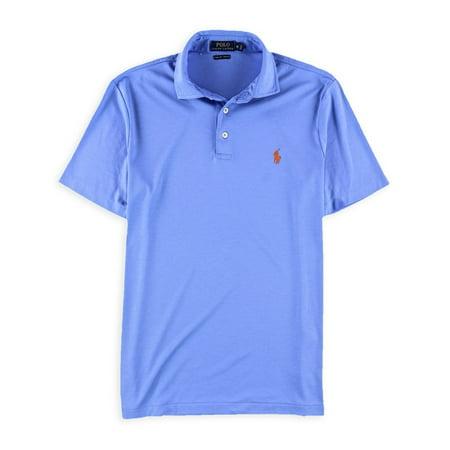 Ralph Lauren Mens Soft-Touch Rugby Polo Shirt harborislandblue S ()