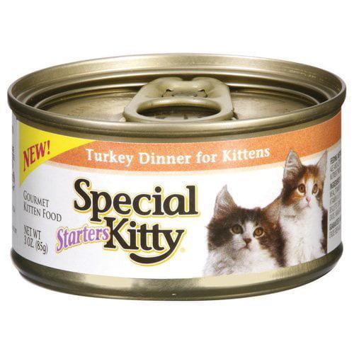 Special Select Kitty Starters Turkey Dinner Kitten Food, 3 oz