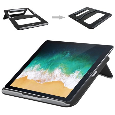 EEEkit Adjustable Laptop Stand, Aluminum Cooling Computer Stand Desktop Holder Compatible with MacBook, MacBook Air, MacBook Pro, Dell XPS, HP, Microsoft, Lenovo & Any Notebook (Microsoft Surface Desktop Stand)