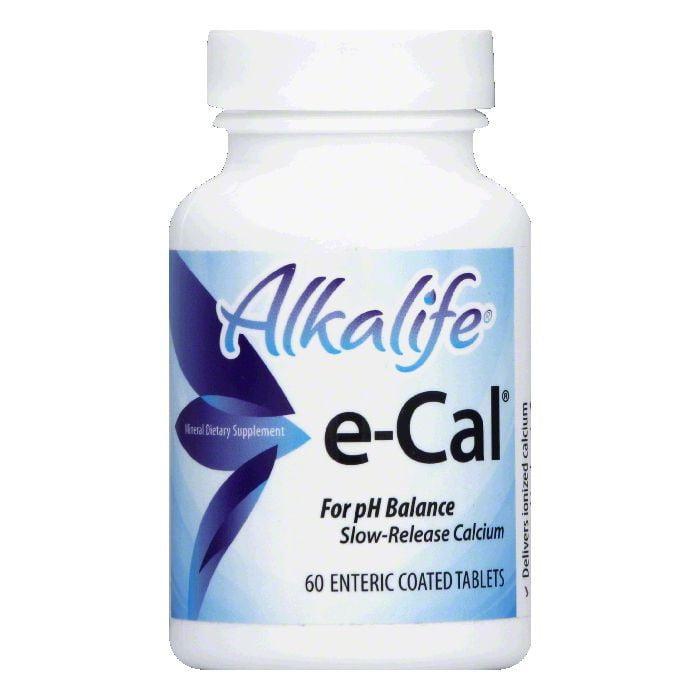 Alkalife Enteric Coated Tablets e-Cal, 60 TB