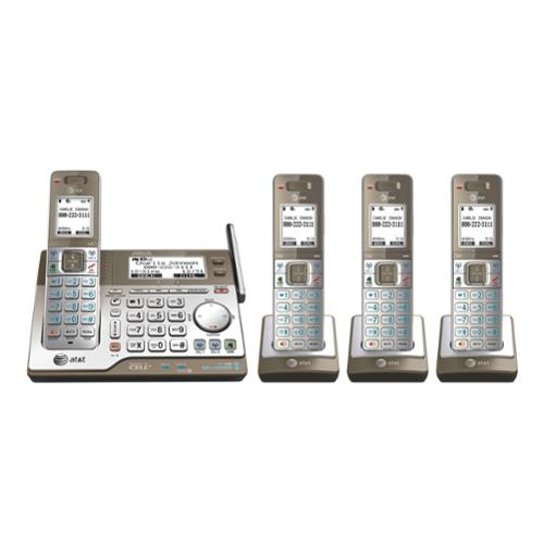 At&t CLP99453 4 Handset Connect To Cell Answering System With Dual Caller Id