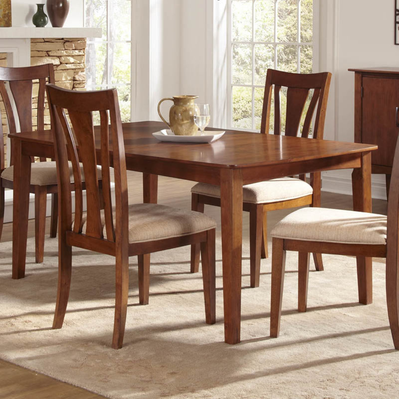 A-America Grant Park Rectangular Leg Dining Table
