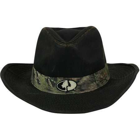 06aa6ff2 Men's Mossy Oak Brown Weathered Cotton Cowboy Hat - Walmart.com