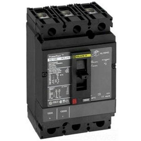 Square D HJL36100M73 3 Pole 100 Amp 600v Motor Circuit Protector Breaker