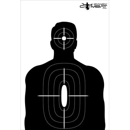Bad Guy Target (Black Guy Silhouette Targets )