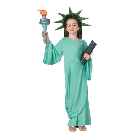 Patriotic Statue of Liberty Kids Halloween - Statue Of Liberty Costumes
