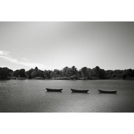 Skiff Boat Plans - Canvas Print Skiffs Rowing Boats Boat Sea Lake Boats Rowboats Stretched Canvas 32 x 24