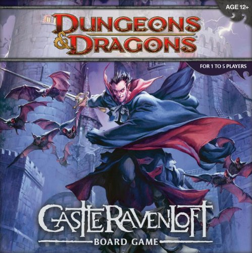 Dungeons and Dragons: Castle Ravenloft Board Game, USA, B...