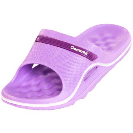 Cammie Women's Cushion Slip On Slide Sandals ()