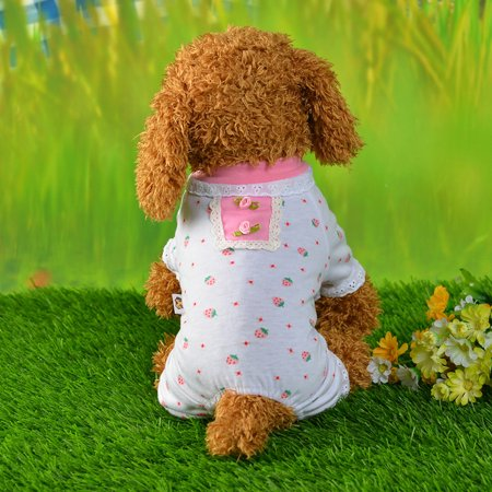 Unisex Pet Clothes Puppy Dog Cat Vest Tracksuit Coat Dress Sweater Apparel