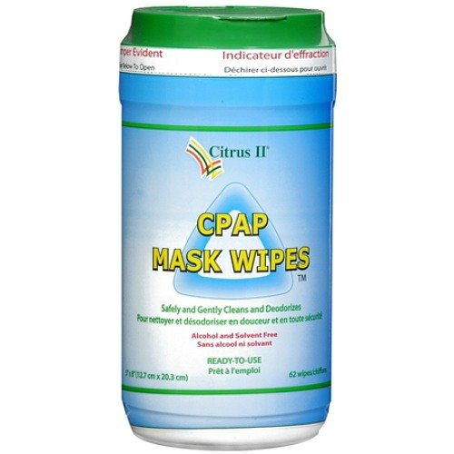 Cpap Mask Cleaning Wipes ,Clean and Maintain 62 Ea(2 Pack...