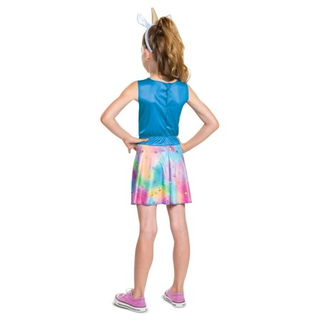 Poopsie Slime Surprise Girls Rainbow Brightstar Costume - image 2 de 2