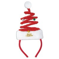 Beistle 1-Pack Springy Santa Headband