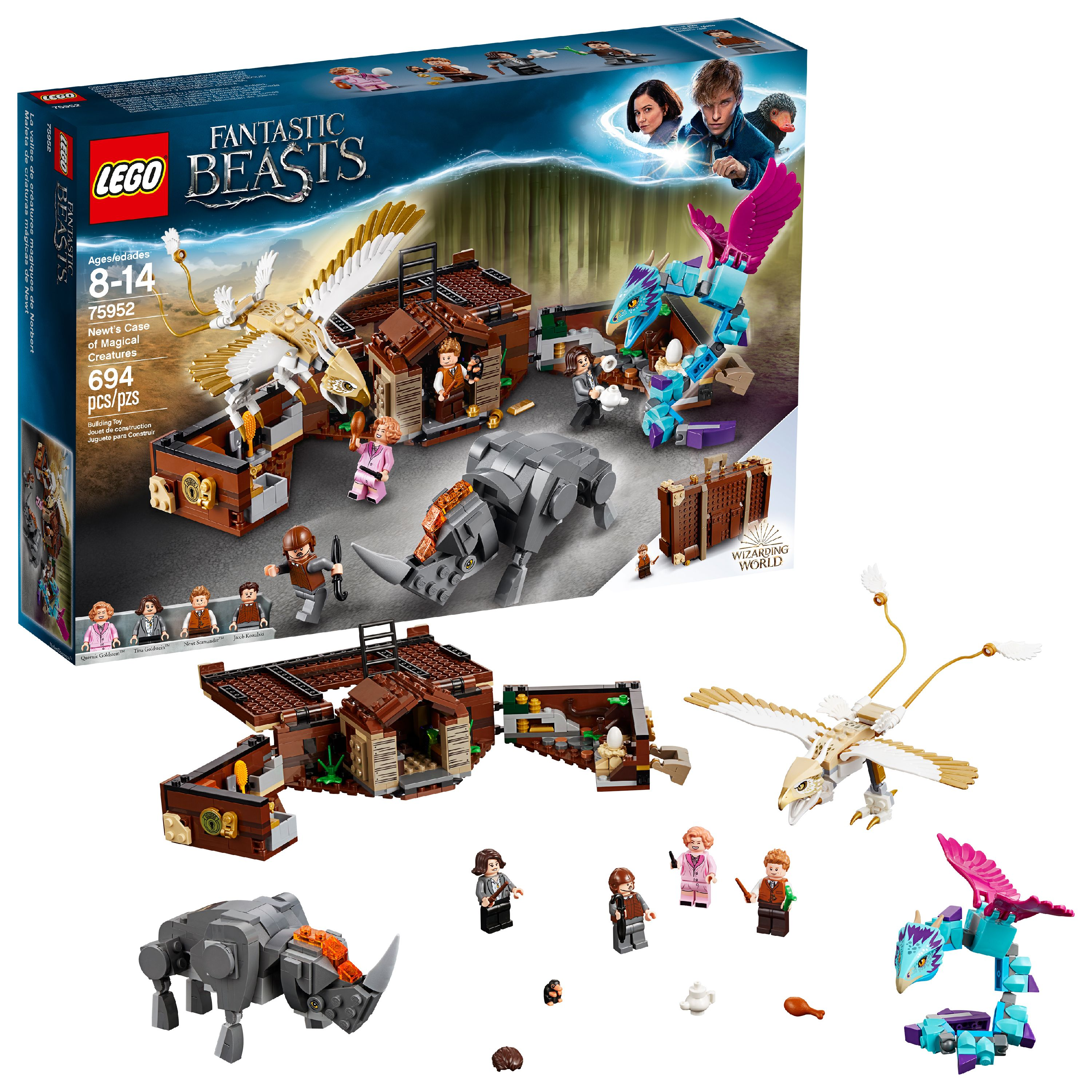 LEGO Harry Potter TM Newt's Case of Magical Creatures 75952
