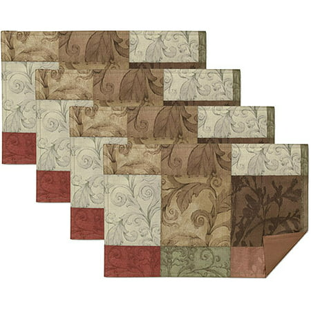 - Mainstays Tuscany Placemats, Set of 4