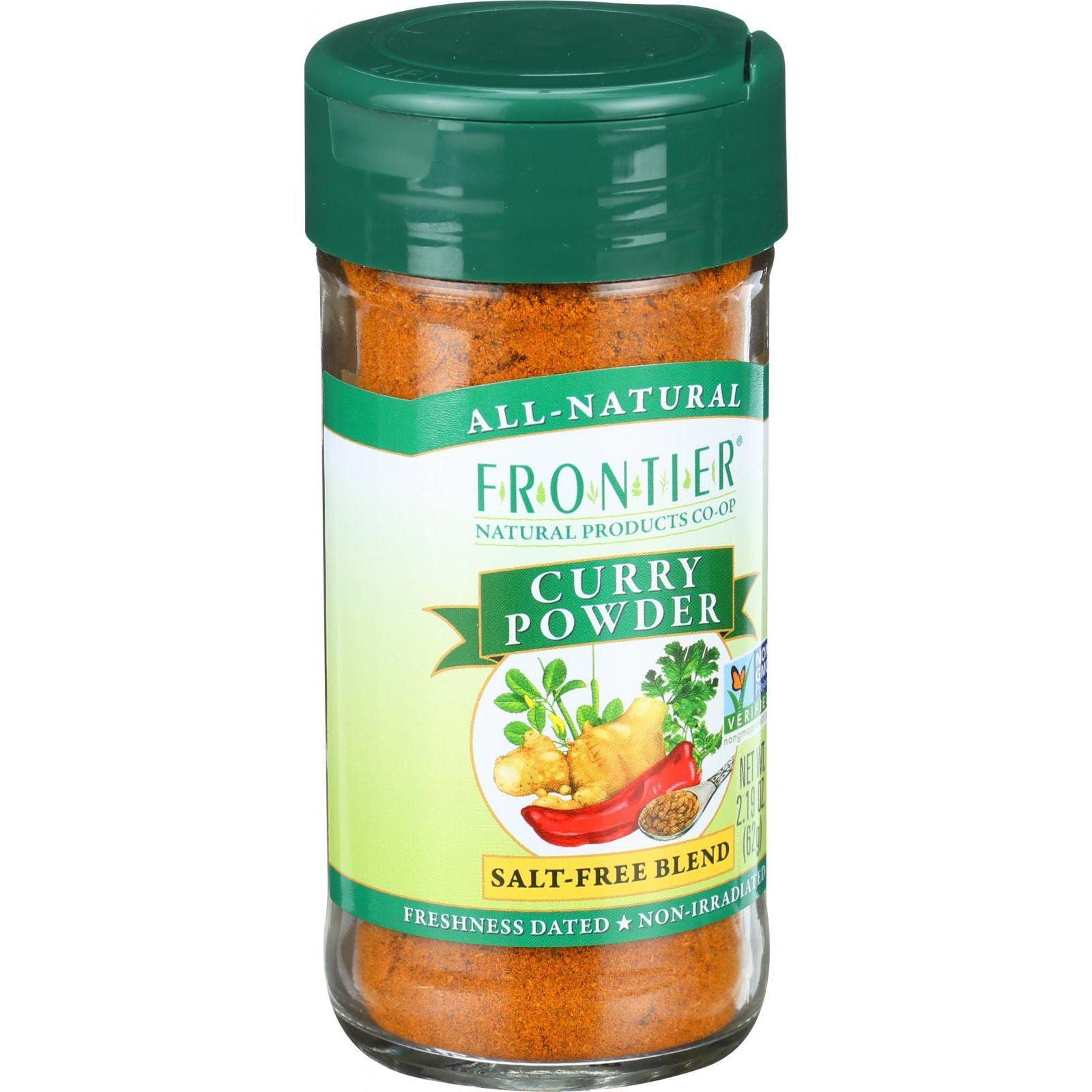 Frontier Herb Curry Powder Seasoning Blend - 2.19 oz