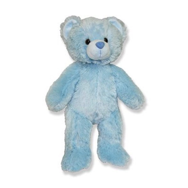 Recordable Teddy Bear Walmart, Long Message Recordable 15 Inch Blue Talking Teddy Bear With 30 Seconds Of Recording Time Walmart Com Walmart Com