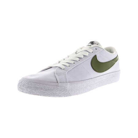 low priced bd3a9 23d54 Nike Men s Sb Blazer Zoom Low Xt White Ankle-High Canvas Skateboarding Shoe  - 10M ...
