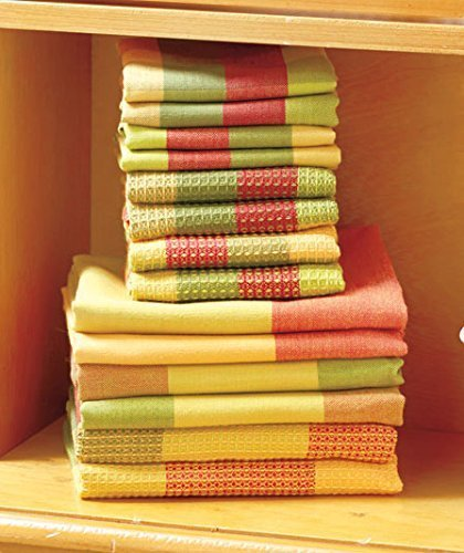 14 Pc. Woven Kitchen Towel Set (Spice) By GetSet2Save