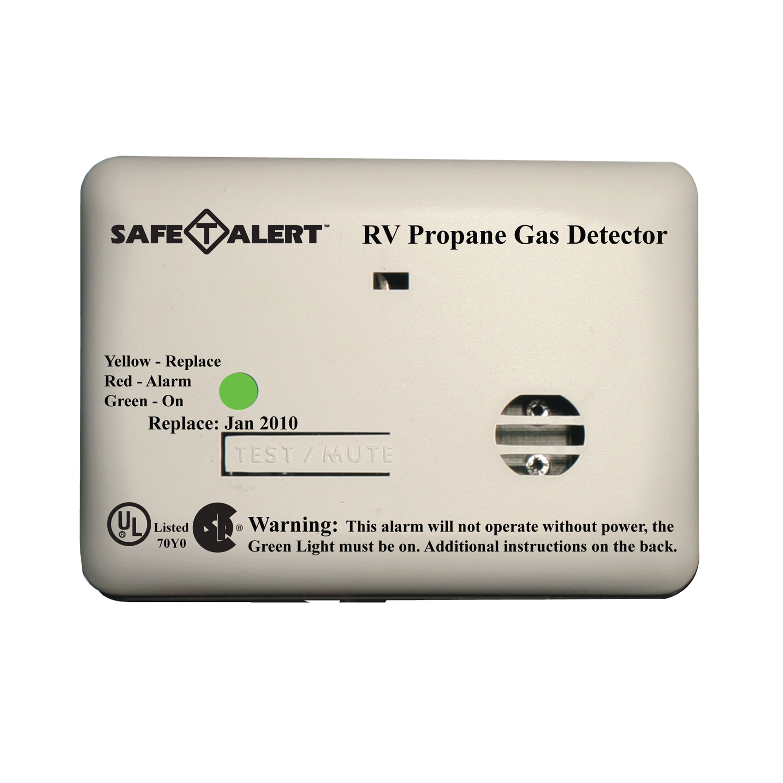 MTI Industries 12V 20 Series Safe-T-Alert Mini RV Propane/LP Gas Alarm