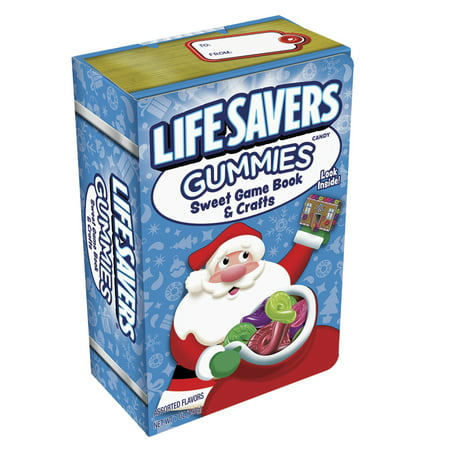 Life Savers Gummies Sweet Game Holiday Book & Crafts (7-oz. Box of 6 Rolls)