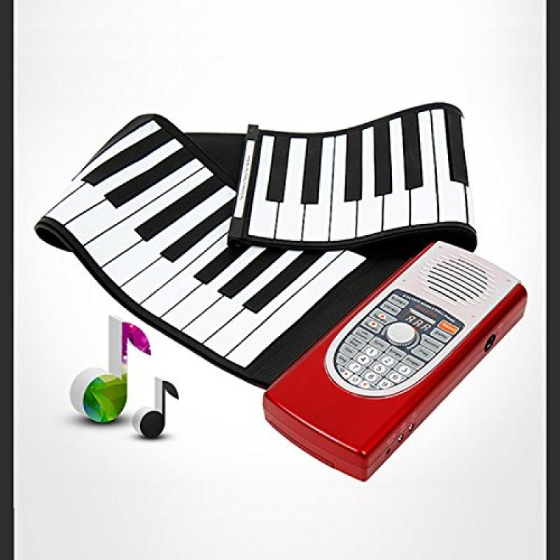 Anypia Hand Roll Up Piano Electronic Portable Keyboard by