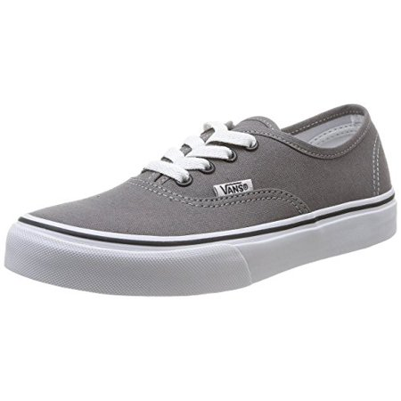Vans VN-0WWXENY: Authentic Pewter Black Sneaker (Pewter/Blk, 12 M US Little Kid) - Minecraft Shoes Vans