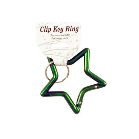 KEYRING STAR CARABINER 1PK