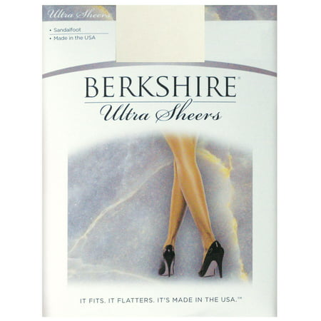 Berkshire Women's Ultra Sheer Non-Control Top Pantyhose - Sandalfoot -
